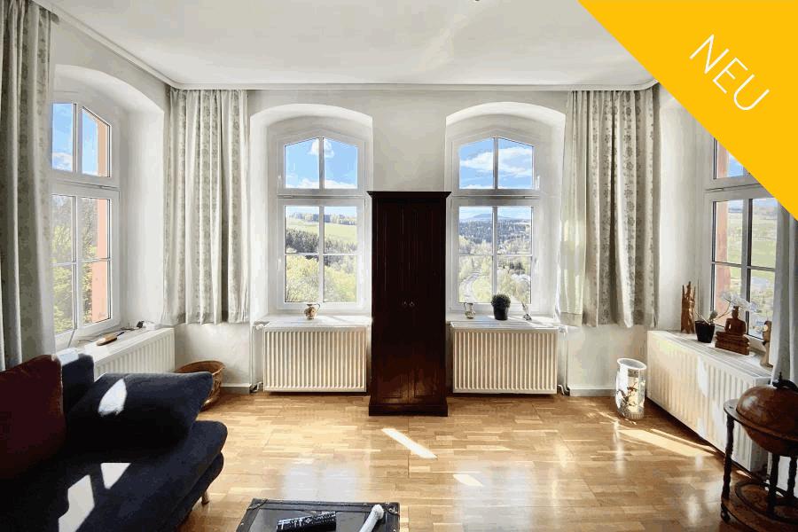 Ferienwohnung Erzgebirge  6 Personen - Villa Maxenstein